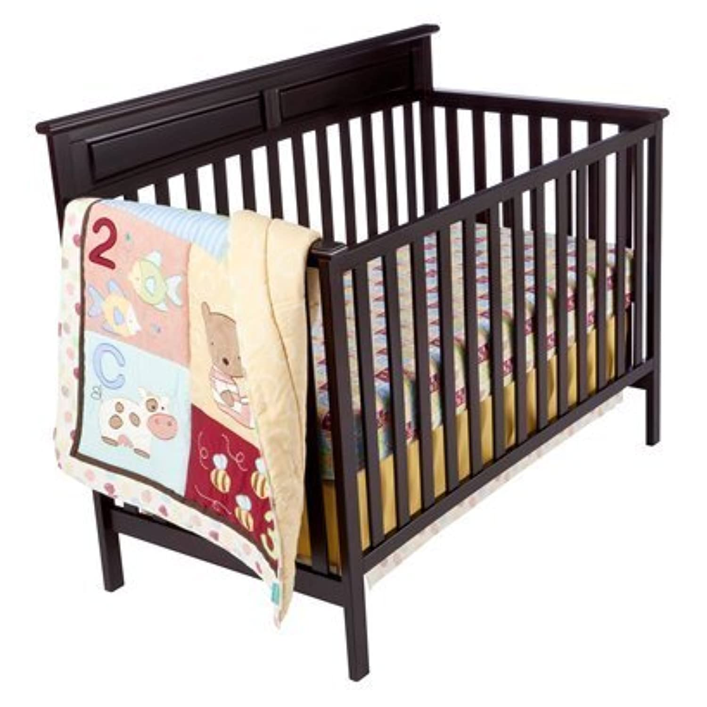 Tiddliwinks ABC 123 3pc Crib Bedding Set by Tiddliwinks