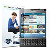 Tech Armor Blackberry Passport フィルム HD Clear ハイディフェンション 高光沢 液晶保護フィルム スクリーンプロテクター for Blackberry Passport ( 保護フィルム 3枚入り ) 【国内正規品】
