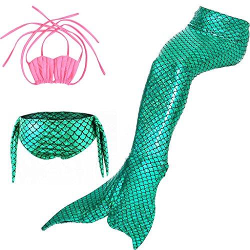 Tumao 水着 女の子 人魚姫 子供 スイミングウェア オ...
