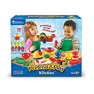 Learning Resources Pretend & Play® Kitchen Set 【ままごと お母さんごっこ】 キッチンセット 正規品