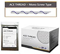 【並行輸入】 ACE PDO Thread lift Korea (リフティング糸 / メソン / 漢方病院針 / 鍼 ) / Ultra V-Lift / Face Lift - Mono Screw Type 100pcs (30G25)