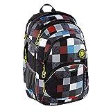 Coocazoo School Backpack JobJobber 3マッチパッチ・ポリエステル30 l