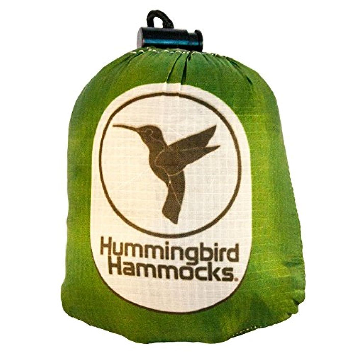 イタリアのチキン古風なHummingbird Hammocks(ハミングバードハンモック) シングル ハンモック 147g ツリーストラップ 42g 超軽量 コンパクト 高強度(パラシュート素材)簡単設営 【日本正規品】キャンプ アウトドア ウルトラライト UL ソロキャンプ 等で活躍