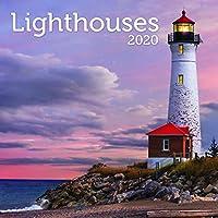 Turner 写真灯台 2020 12X12 写真 壁カレンダー (20998940020)