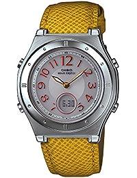[カシオ]CASIO 腕時計 WAVECEPTOR ウェーブセプター レディース電波ソーラーウォッチ オレンジ MULTIBAND6 マルチバンド6 LWA-M141L-4A3JF レディース