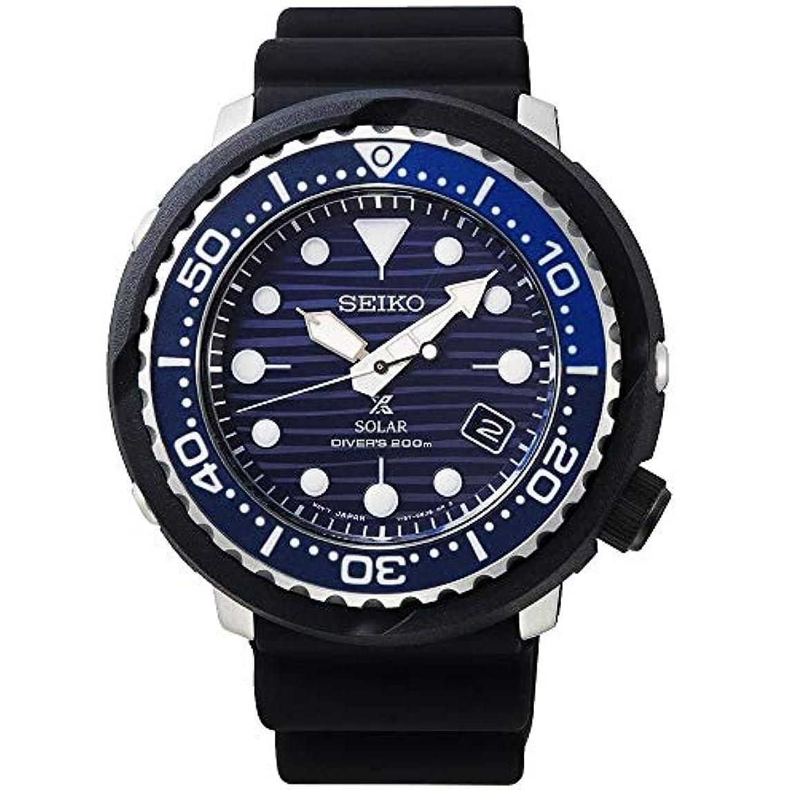 液体二週間フットボール【セット商品】セイコー SEIKO プロスペックス PROSPEX ソーラー 200Mダイバーズ 腕時計 SNE518P1 &マイクロファイバークロス 13×13cm付き [逆輸入品]