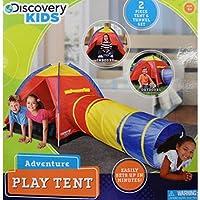 Kids Will Surely Have Funと感動の時間を簡単にセットUp Discovery Kids Dk Adventureテント、2pieceテントとトンネルセット、屋内やアウトドア