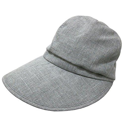 RoseBlanc(ロサブラン)100%完全遮光帽子キャスケット(通気性タイプ)(DungareeGray(ダンガリーグレー))