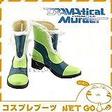 【高級コスプレブーツ 靴】【コスプレブーツ DRAMAtical Murder ノイズ cosplay 高級コスプレブーツ 靴】コスプレ ブーツ 靴 DRAMAtical Murder ノイズ /x068/SALE201403XP5 女性用25cm
