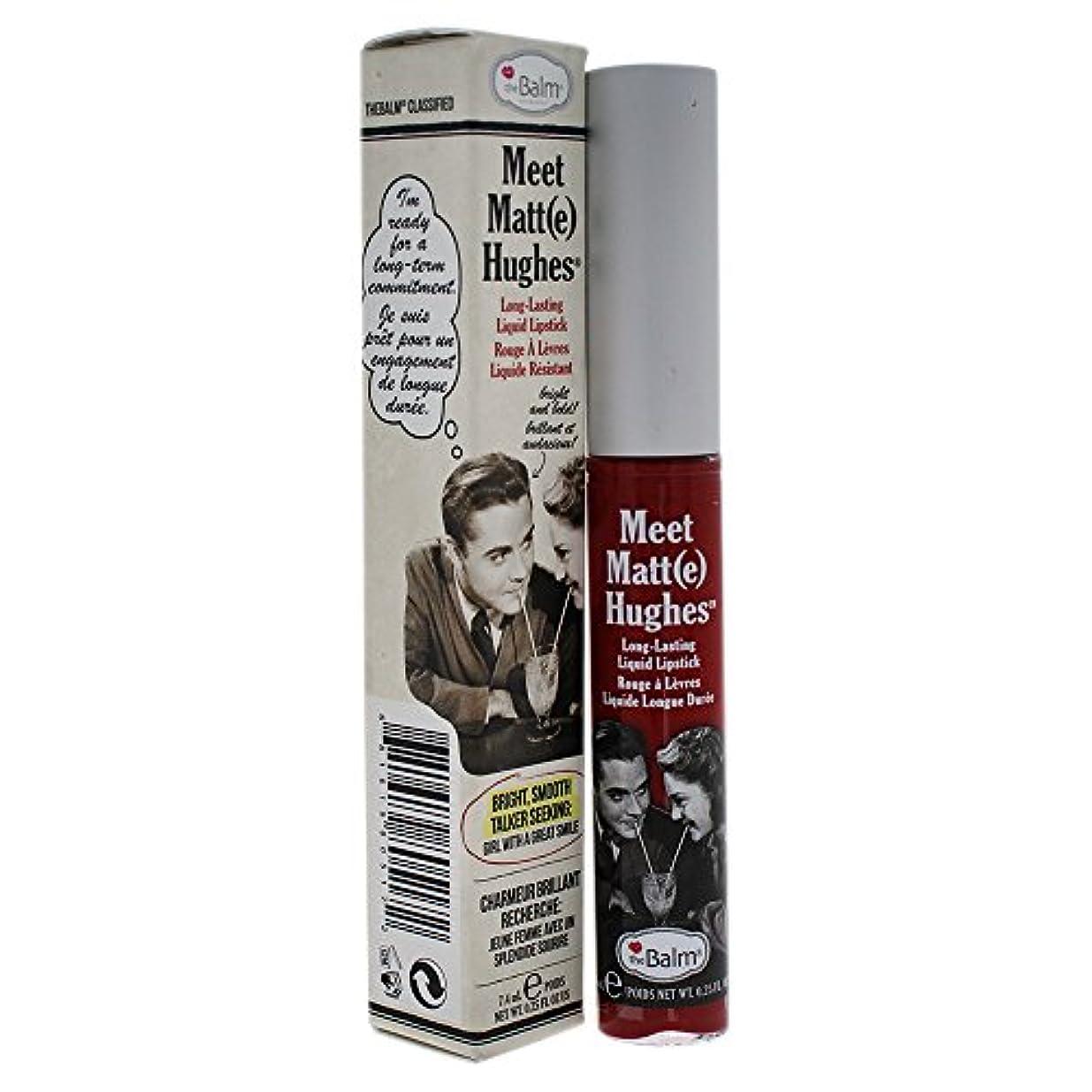 床受粉者フローティングザバーム Meet Matte Hughes Long Lasting Liquid Lipstick - Loyal 7.4ml/0.25oz並行輸入品