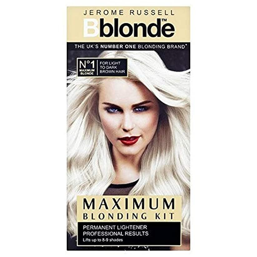 根拠容疑者バスケットボール[B Blonde] ジェロームラッセルBblonde軽量化キットには、Med-暗いです - Jerome Russell Bblonde Lightening Kit Med-Dark [並行輸入品]