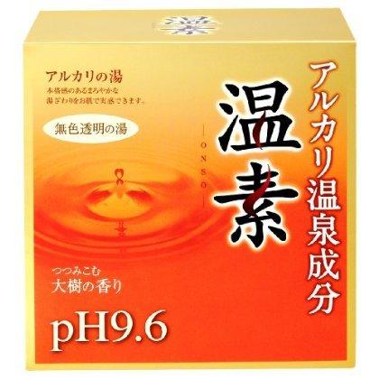 温素 アルカリ温泉成分 無色透明の湯 30g*15包(入浴剤)