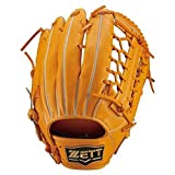 ZETT(ゼット) 軟式グラブ ネオステイタス 外野手用 オレンジ LH(右投げ用) BRGB31417