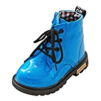 [ルテンズ] 乳児靴 温かい 女の子 男の子 滑り止め 子供 靴 花柄 シンプル 3-7歳 誕生日 プレゼント ベビーシューズ 耐磨 おしゃれ カッコイ 履きやすい キッズ ブーツ