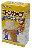 日世 コーンカップ 12個×12個