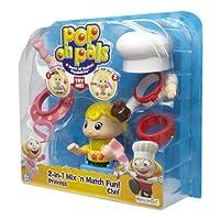 Pop On Pals - Figure Chef/Princess [並行輸入品]