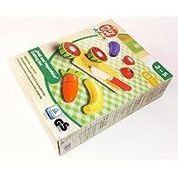 おままごと 木製 サラダセット 野菜 くだもの 切れるままごと ドイツ 在庫処分 特価