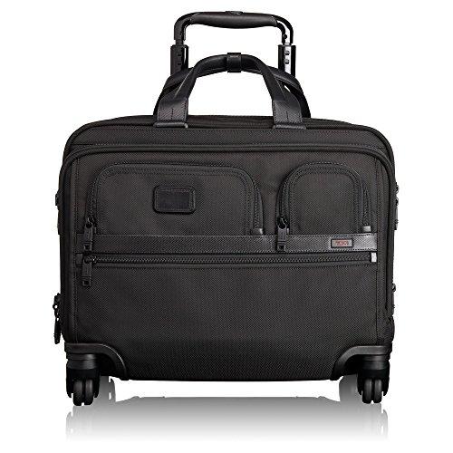 [トゥミ] TUMI 26627 ALPHA 2 4輪 キャリーバッグ + ノートパソコンケース付属 / 4 Wheeled Carry on Deluxe Brief with Laptop Case [並行輸入品]