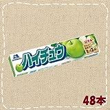 森永 ハイチュウ グリーンアップル 48本(12本入り4BOX)