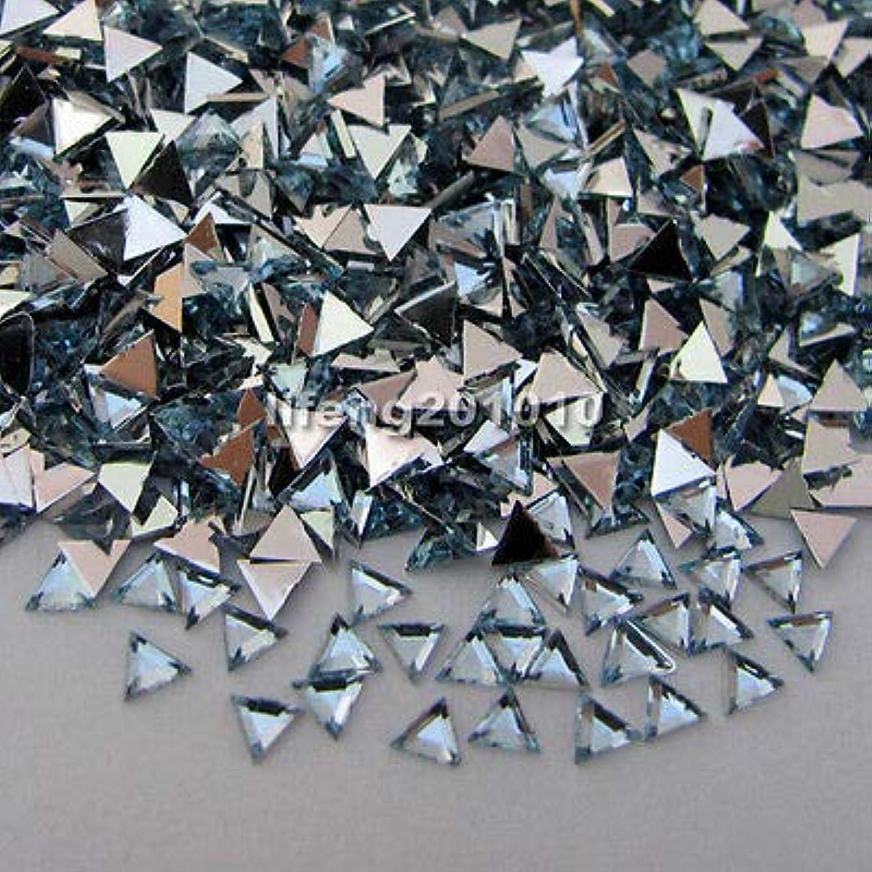 納税者ピボットペンFidgetGear 10000ピーストライアングル3Dアクリルネイルアートデコレーションフラットバックラインストーン宝石