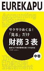【中巻】サクサクめくる!「見る」だけ 財務3表 読まないで会計思考を身につける方法: これまでなかった会計の「絵本」