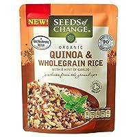Seeds of Change Quinoa & Wholegrain Rice (240g) チェンジ?キノアと全粒米の種子( 240グラム)