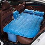 車の膨脹可能なベッドのチャイルドシートの反落下の膨脹可能なベッドの車の普遍的な折りたたみの耐震性の屋外旅行のベッド空気bedcarの膨脹可能な旅行のベッド車のエアーベッドinfl(色:青)