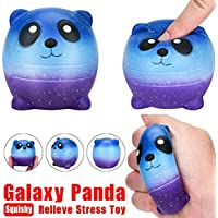 Slow Rising Galaxy pandasquishies Squeeze Toys by coerni