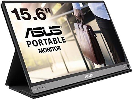 ASUSモバイルディスプレイ MB16AC 15.6インチモニター(1,920×1,080 / ブルーライト軽減 / USB Type-C / IPSパネル)