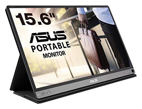 ASUS モバイルディスプレイ MB16AC 15.6インチモニター(1,920×1,080 / ブルーライト軽減 / USB Type-C / IPSパネル)