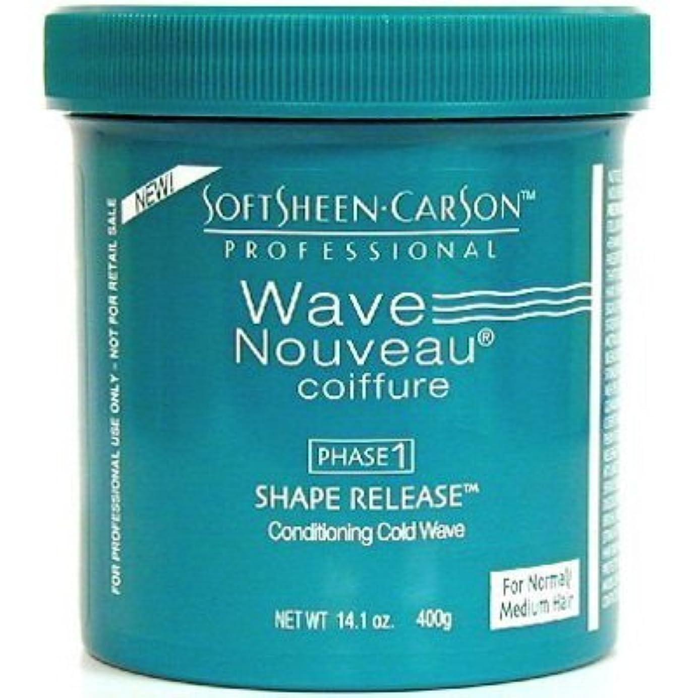 個人枯渇硬いWave Nouveau シェイプリリースノーマル媒体相1、14.1オズ