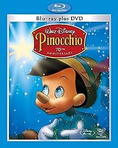 ピノキオ プラチナ・エディション ブルーレイ・プラス・DVD セット [Blu-ray]