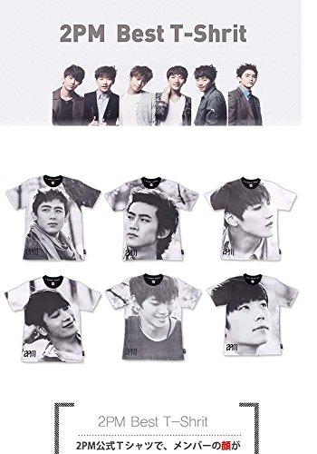 【2PM(ツーピーエム) Official Best Tシャツ / JYP 公式グッズ】 ニックン (L) 半そで [並行輸入品]