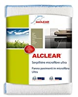 ALCLEAR 950009ウルトラマイクロファイバーフロアクロス、白、60 x 40 cm