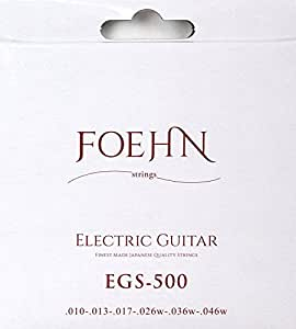 FOEHN EGS-500 Electric Guitar Strings Regular エレキギター弦 10-46