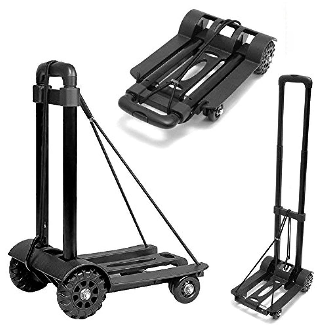 定刻突き刺す軸clara lapis コンパクト キャリーカート 折りたたみ式 ハンドキャリー 荷重量55キロ 軽量 簡易 静音 買い物 荷物運び