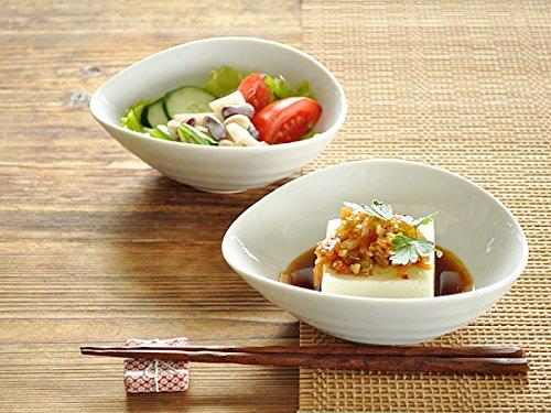 【M'home style】白い食器 とんすいOKたまごみたいな万能小鉢 ホワイトレベル2