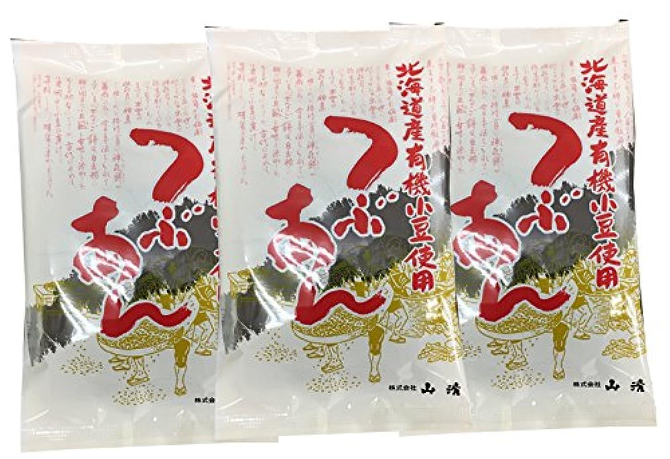 海洋粒反対山清 北海道産有機小豆使用つぶあん <200g > 3個