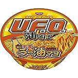 焼そばU.F.O. 油そば 辛口濃い濃いラー油マヨ付き 113g ×12食