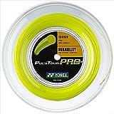 Yonex(ヨネックス) ポリツアープロ 200Mロール 硬式テニス ポリエステル ガット/1.20mm/イエロー