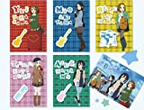 けいおん!×ローソンフェア 第3弾 クリアファイル 全6種セット 唯 澪 紬 律 梓  K-ON