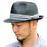 nakota(ナコタ) ミックスペーパーハット メンズ レディース  麦わら帽子 折りたたみ パナマ帽 麦わらハット 春夏 帽子 中折れ ハット リボン ライン 軽い 通気性 紫外線対策 子供 キッズサイズ 大きいサイズ