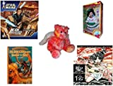 Girl's Gift Bundle - Ages 6-12 [5 Piece] - STAR WARS Jedi Unleashed Game - Brass Key Celebrating