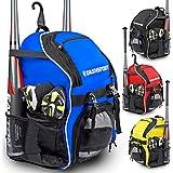 DashSport Baseball Bag Softball Backpack Bat Bag | T-Ball Equipment and Softball Bag | Bat Pack