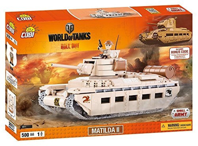 World of Tanks /3011/MATILDA, 500 building bricks by Cobi [並行輸入品]