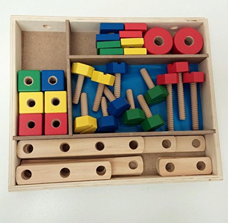 メリッサ&ダグクラシックToy Constructionセットin aボックス