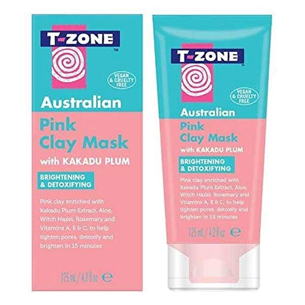 縁石航空会社観光[T-Zone] Tゾーンのオーストラリアピンククレイマスク - T-Zone Australian Pink Clay Mask [並行輸入品]