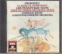 Love of 3 Oranges / Symphony 1 / Lt Kije Suite