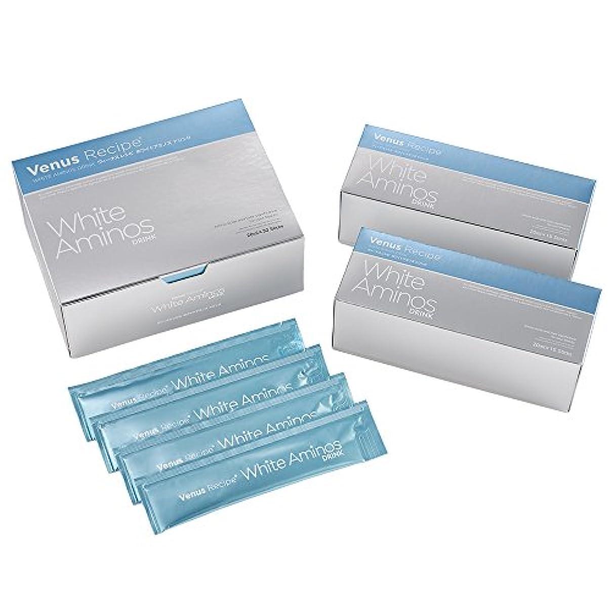 推進アイザック華氏アクシージア (AXXZIA) ヴィーナスレシピ ホワイトアミノズ ドリンク 600mL(20mL×15包)| 美容ドリンク アミノ酸