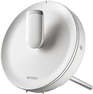 BUFFALO WiFi 無線LAN AirStation connect 親機 WTR-M2133HP 11ac ac2200 866+866+400Mbps トライバンド 独自メッシュ機能搭載 4K動画対応 2LDK 20台 【iPhone8/iPhoneX/iPhoneXS/Amazon Echo メーカー動作確認済み】